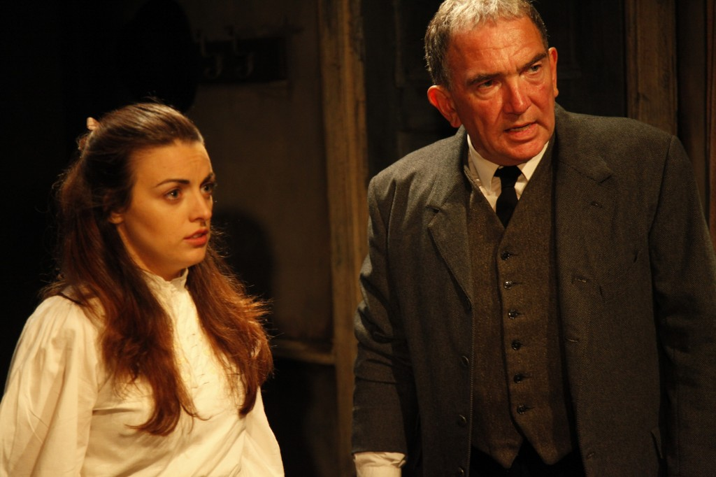 Daragh O'Malley and Nora-Jane Noone in Mixed Marriage directed by Sam Yates